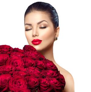 Rote Rosen zum Weltfrauentag