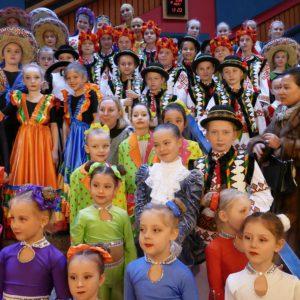 Ukrainische Kinder-Tanzgruppe Alisa
