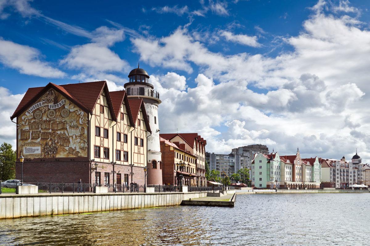Fischerdorf, Kaliningrad