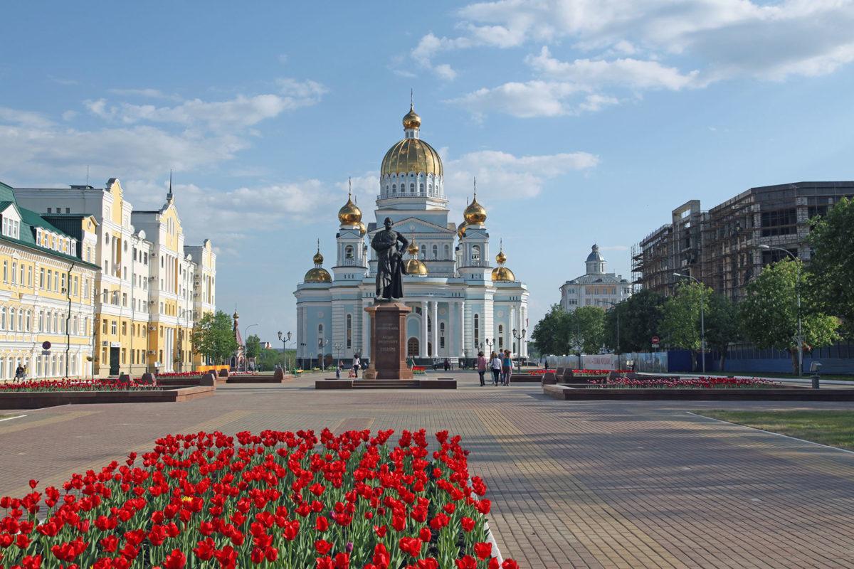 Kathedrale des Heiligen Rechtschaffenen Theodor Uschakow, Saransk, Russland