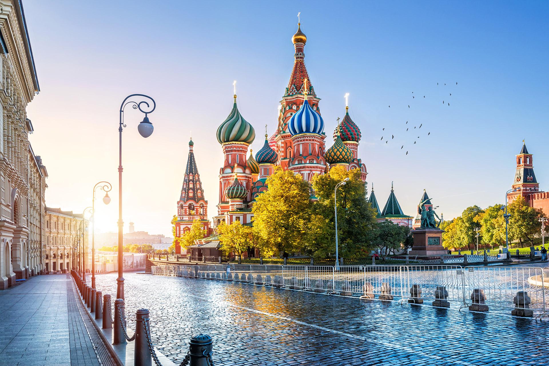 Basilius-Kathedrale, Moskau, Roter Platz